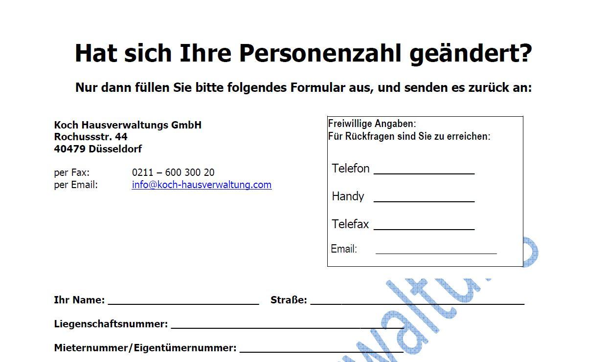 Infos für Mieter und Eigentümer-Hat sich Ihre Personenzahl verändert